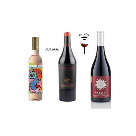 """""""Tertium"""" on-wine tasting set"""
